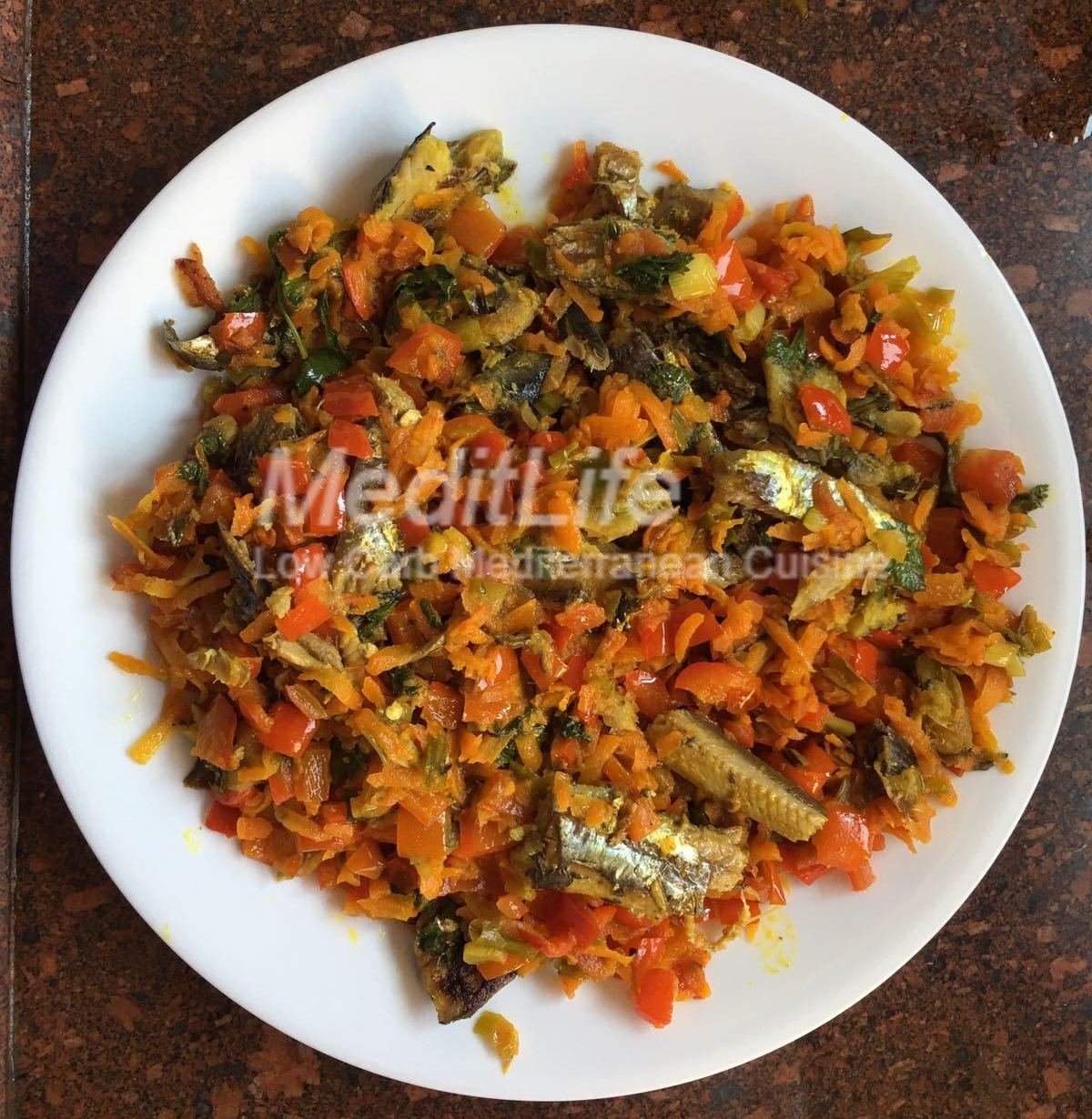 Mediterranean Style Diet Recipes: Mediterranean Style Sardines